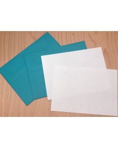 Confetti DIY Card Set - A7 Card and Envelopes - 10 in a set