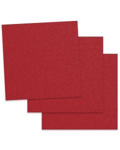 Crush Cherry - 12X12 Card Stock Paper  - 92lb Cover (250gsm) - 50 PK