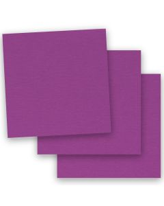 BASIS COLORS - 12 x 12 CARDSTOCK PAPER - Dark Magenta - 80LB COVER - 50 PK