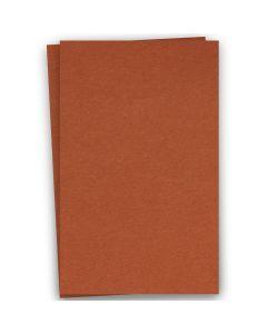 BASIS COLORS - 12 x 18 CARDSTOCK PAPER - Dark Orange - 80LB COVER - 100 PK