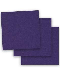 BASIS COLORS - 12 x 12 CARDSTOCK PAPER - Dark Purple - 80LB COVER - 50 PK