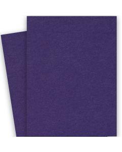 BASIS COLORS - 26 x 40 CARDSTOCK PAPER - Dark Purple - 80LB COVER - 100 PK