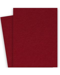 BASIS COLORS - 26 x 40 CARDSTOCK PAPER - Dark Red - 80LB COVER