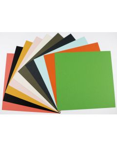 EXTRACT Colors 12-x-12  Cardstock Variety Pack (10 colors / 3 each) - 30 PK