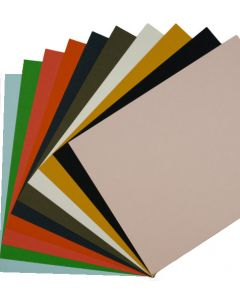 Colorful Eco Matte Extract Cardstock Variety Pack (10 colors / 3 each) - 30 PK