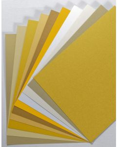 FAVORITE PAPERS - Gold - 8.5 x 11 Cardstock - TRY-ME Pack
