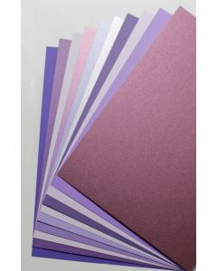 FAVORITE PAPERS - Purple - 8.5 x 11 Cardstock - TRY-ME Pack
