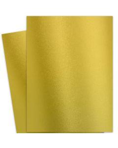 FAV Shimmer Premium Gold - 28X40 (72X102cm) Card Stock Paper  - 92lb Cover (250gsm) - 125 PK