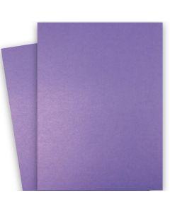Shine VIOLET SATIN - Shimmer Metallic Card Stock Paper - 28x40 - 92lb Cover (249gsm)