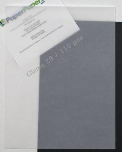 CTI Glama Natural Translucent (Vellum) CLEAR 29lb Text Paper (23 x 35)