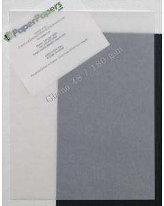 CTI Glama Natural Translucent (Vellum) CLEAR 8.5 x 11 Paper - 48lb Cover - 25 PK