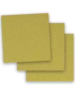 BASIS COLORS - 12 x 12 CARDSTOCK PAPER - Golden Green - 80LB COVER - 50 PK