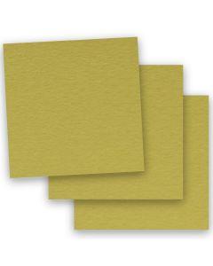 BASIS COLORS - 12 x 12 PAPER - Golden Green - 28/70 TEXT - 50 PK