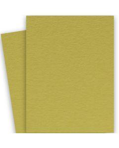 BASIS COLORS - 26 x 40 CARDSTOCK PAPER - Golden Green - 80LB COVER - 100 PK