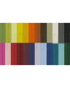 Colorful Matte Basis 8.5 x 11 Variety TEXT Weight Paper - (31 colors / 4 each) - 124 PK