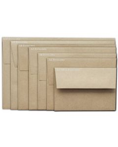 Brown Bag Envelopes - KRAFT - A10 Envelopes - 50 PK