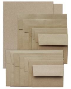 Brown Bag KRAFT Paper and Envelopes - TRY-ME Pack