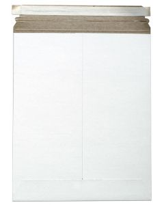 [Clearance] Cardboard Envelopes - WHITE Paperboard Mailers (11-x-13.5) - 10 PK