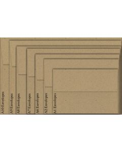 Neenah Environment DESERT STORM (80T/Smooth) - A1 Envelopes (3.625 x 5.125) - 2500 PK
