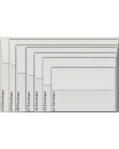 Neenah Environment WHITE (80T/Smooth) - A1 Envelopes (3.625 x 5.125) - 2500 PK