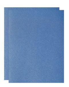 FAV Shimmer Blue Sodalite - 12 x 18 Card Stock Paper - 107lb Cover (290gsm) - 100 PK