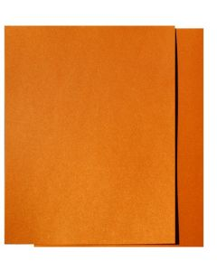 FAV Shimmer Orange Gold Fusion - 8.5 x 11 Card Stock Paper - 107lb Cover (290gsm) - 100 PK