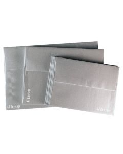 FAV Shimmer PURE SILVER - A9 ENVELOPES (5.75-x-8.75) - 250 PK