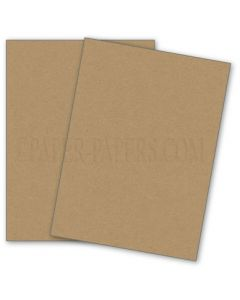 DUROTONE PACKING BROWN WRAP - 8.5X11 Card Stock Paper - 80lb Cover - 50 PK