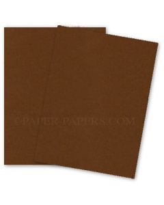 [Clearance] SPECKLETONE Brown - 8.5X11 Card Stock Paper - 100lb Cover (270gsm) - 25 PK