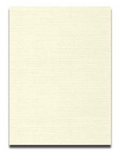 Neenah CLASSIC LINEN 8.5 x 11 Card Stock - Classic Natural White - 80lb Cover - 250 PK