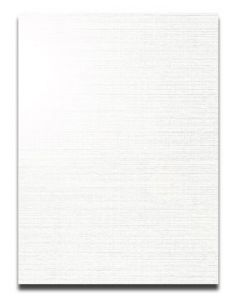 CLASSIC LINEN 8.5X11 Card Stock - White Pearl - 84lb Cover - 250 PK