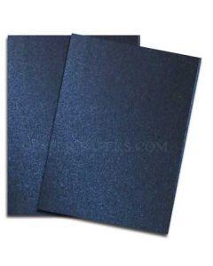 Shine MIDNIGHT Blue - Shimmer Metallic Ledger Size Paper - 11 x 17 - 32/80lb Text (118gsm) - 200 PK