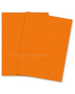 Astrobrights 8.5X11 Card Stock Paper - COSMIC ORANGE - 65lb Cover - 2000 PK