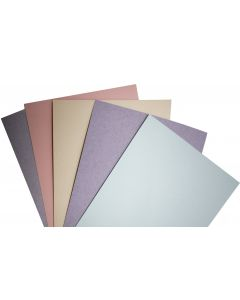 Kraft-Tone Fiber 8.5X11 Cardstock Variety Pack (5 colors / 10 each) - 50 PK