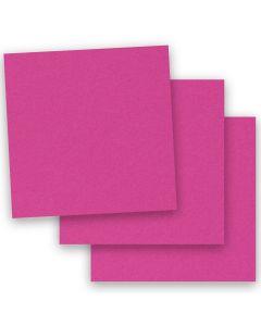 BASIS COLORS - 12 x 12 CARDSTOCK PAPER - Magenta - 80LB COVER - 50 PK