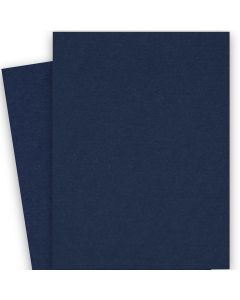 BASIS COLORS - 26 x 40 CARDSTOCK PAPER - Navy - 80LB COVER