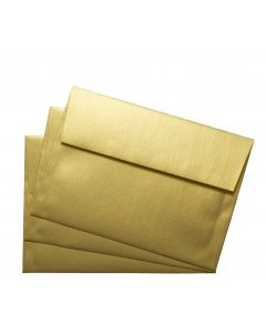 FAV Shimmer PURE GOLD - A7 Envelopes (5.25-x-7.25) - 50 PK