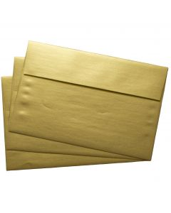 FAV Shimmer PURE GOLD - A9 ENVELOPES (5.75-x-8.75) - 50 PK