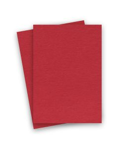 BASIS COLORS - 8.5 x 14 CARDSTOCK PAPER - Red - 80LB COVER - 100 PK