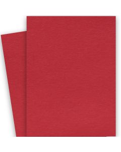 BASIS COLORS - 26 x 40 CARDSTOCK PAPER - Red - 80LB COVER - 100 PK