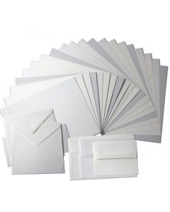 100% Cotton - Savoy Paper and Envelopes TRY-ME Pack