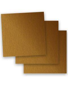 Stardream Metallic - 12X12 Card Stock Paper - ANTIQUE GOLD - 105lb Cover (284gsm) - 35 PK