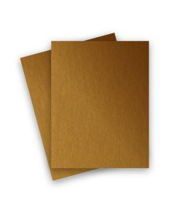 Stardream Metallic - 8.5X11 Paper - ANTIQUE GOLD - 81lb Text (120gsm) - 25 PK