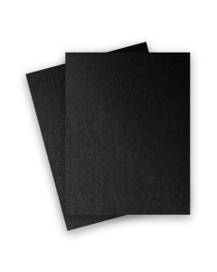 Stardream Metallic - 8.5X11 Card Stock Paper - ONYX - 105lb Cover (284gsm) - 25 PK