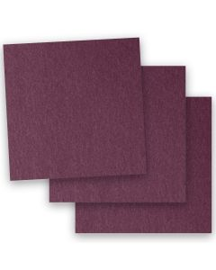 Stardream Metallic - 12X12 Paper - RUBY - 32/81lb Text (120gsm) - 50 PK