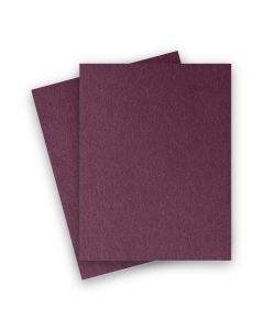 Stardream Metallic - 8.5X11 Card Stock Paper - RUBY - 105lb Cover (284gsm) - 25 PK