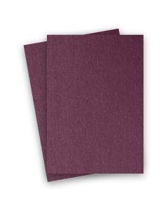 Stardream Metallic - 8.5X14 Legal Size Card Stock Paper - Ruby - 105lb Cover (284gsm) - 150 PK
