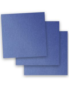 Stardream Metallic - 12X12 Paper - SAPPHIRE - 32/81lb Text (120gsm) - 50 PK