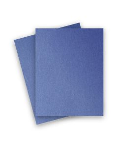 Stardream Metallic - 8.5X11 Card Stock Paper - SAPPHIRE - 105lb Cover (284gsm) - 1000 PK