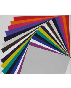 Colorful Extra Smooth CARDSTOCK Matte SKIN Variety Pack (16 Colors / 3 each) - 48 PK